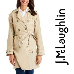 J McLaughlin Travel Trench Coat
